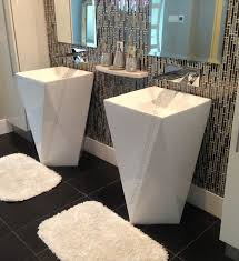 18 Inch Pedestal Sink by 22 Best Pedestal Sinks Modern Bathroom Images On Pinterest Sinks