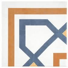 Home Depot Merola Hex Tile by Merola Tile Braga Classic 7 3 4 In X 7 3 4 In Ceramic Floor And