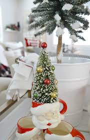 Fred Meyer Christmas Trees by Cottage Farmhouse Christmas Dining Room Fox Hollow Cottage