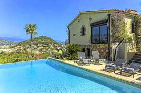 100 Beach Houses In La Cote DAzur Holiday Villa To Rent With Pool Next To A Beach