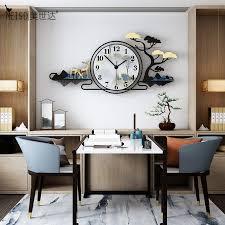 nordic landschaft große wanduhr moderne design wohnzimmer hause dekoration leere wand decor dekorative designer uhr uhren