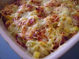 gratin de macaronis aux poireaux et chorizo la ronde des délices