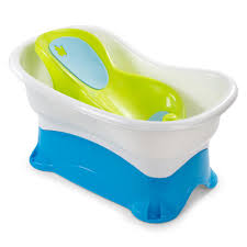 Disposable Plastic Bathtub Liners by Summer Infant Right Height Bath Tub Blue Babies
