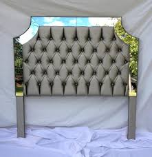 Diamond Tufted Headboard With Crystal Buttons by Design Fascinating Bedroom Style Diy Crystal Tufted Headboard
