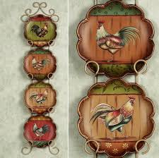 Apple Kitchen Decor Canada by Kitchen Colorful Rooster Kitchen Decor Near Window What Makes