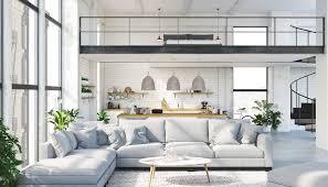 modernes appartement im industriedesign mit schlafempore