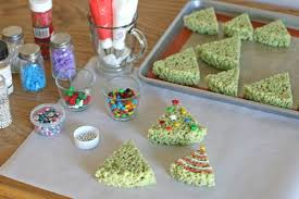 Rice Krispie Christmas Tree Pops by Rice Krispies Treats Christmas Trees By Glorious Treats