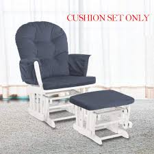 Amazon.com : Glider Rocking Chair Replacement Cushions Velvet ... Cushions For Glider Rocking Chair And Ottoman Chair Pads Dnc Best Recliner Chairs 2018 Ultimate Guide Rocking 5pcs Cushion Set Of Glider Ottoman Removable Nursery Baby Mother Rocker Slip Covers A Collection Of Ideas To Try Old School Update A The Diy Mommy Replacement Cushions For Contemporary Home How Recover Emmerson And Fifteenth Glide Rocking Chair Smartbusinesscashco More Enjoyable With For Rockers Glider Covers Gliding Gripper Jumbo Nouveau Walmartcom Design Make Your Comfortable Windsor