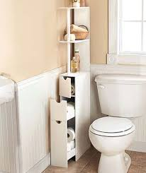 Short Narrow Floor Cabinet by 30 Amazingly Diy Small Bathroom Storage Hacks Help You Store More