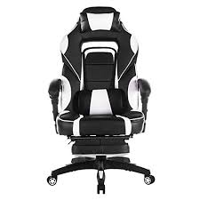 Reclining Gaming Chair With Footrest by Best Ergonomic Gaming Recliners With A Footrest For 2017