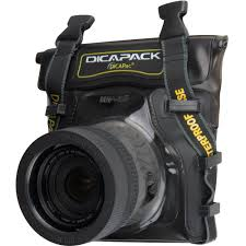 DiCAPac WP S5 Waterproof Case for Small DSLR Cameras