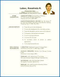 Free Resume Samples - Hudsonhs.me