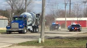 100 Kasson Truck Show Police Chase Stolen Cement Truck In SE Minnesota
