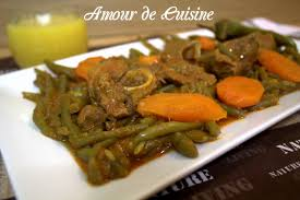 cuisiner des haricots verts haricots verts a l agneau en sauce amour de cuisine