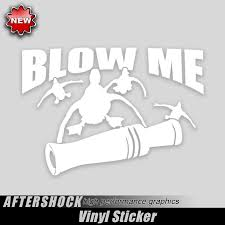 100 Duck Decals For Trucks Call Blow Me Sticker
