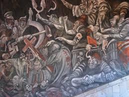 Jose Clemente Orozco Murales Guadalajara by J C Orozco La Caduta Delle Ideologie La Bottega Del Pittore