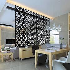 myeussn 12pcs diy raumteiler bildschirm kunststoff hängeleinwand wandaufkleber studieren sitzecke raumteiler trennwand wohnzimmer schlafzimmer räumen