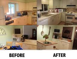 before after this is what the smart tiles can do to a kitchen