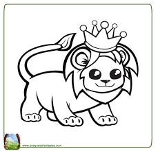 Colorear Animales Salvajes Tigre Dibujos Para Cortar Y Colorear