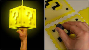 Mario Question Mark Block Lamp by 30 Super Mario Accessories You Can Buy Or Diy All3dp