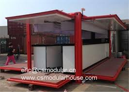 100 Modified Container Homes Hot Item Low Cost Prefab House Shipping Bar