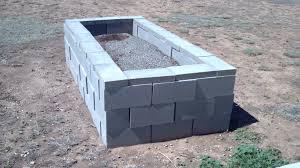 Cinder Block Raised Ve able Garden