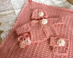 baby sweater set crochet patterns bronze cardigan