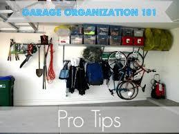 Garage Organizing & Decluttering Tips