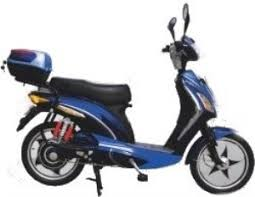 E Wheels EW 550 Transport Electric Moped