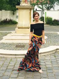 Bohemian Style Maxi Skirt Szeged Hungary 3