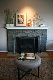 How To Paint A Stone Fireplace Can You Best In Painted Plans 18