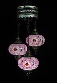 Turkish Mosaic Lamps Amazon by Turkish Lamp 3 Globe Chandelier Lamptastic Cashorika Decoration