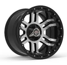 100 20 Inch Truck Rims Center Line Lifted Series LT1 830MB Wheels Gloss Black