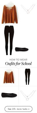 Outfit For School By Sjamil On Polyvore Featuring River Island