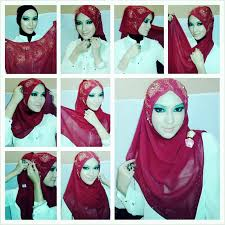 comment mettre le fille voilée mode hijabi