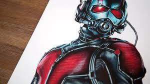 Ant Man Speed Drawing