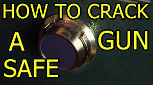 Homak Gun Safe Default Code by How To A Gun Safe Youtube