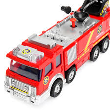 Kids Large Fire Truck Toy Fire Brigade Vehicle W/ Lights Sounds Real ... Large Toy Fire Engines Wwwtopsimagescom 1pcs Truck Engine Vehicle Model Ladder Children Car Assembling Large Fire Truck Toy Cars Multi Functional Buy Csl 132110 Sound And Light Version Of Alloy Amazing Dickie Toys Large Fire Engine Toy With Lights And Sounds 2 X Rescue Extinguisher Toys Tools Big Tonka Trucks Related Keywords Suggestions Tubelox Deluxe 220 Set Tubeloxcom Wooden Amishmade Amishtoyboxcom Iplay Ilearn Shooting Water Lights N Sound 16 With Expandable Bump Kids Folding Ottoman Storage Seat Box Down