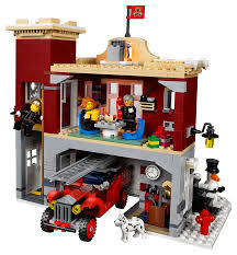 100 How To Build A Lego Fire Truck LEGO Creator Winter Village Station 10263 Officially Nnounced