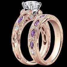 Purple Wedding Ring Kirk Kara