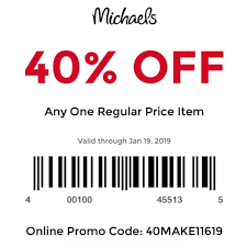FunkoFinderz - Coupon: Michaels 40% Off Any One Regular ...