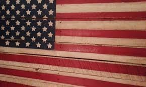 Proud Pallet Rustic Americana Flag