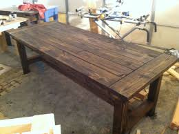 10 person farmhouse dining table by sawdustfurniture on etsy