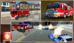 Rescue Fire Truck Games