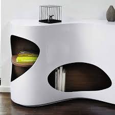 design sideboard regal in weiß hochglanz scarula