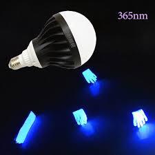 high power led 365nm e27 base blacklight blue uva for