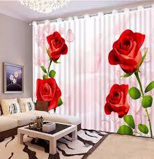 Schlafzimmer Vorhã Nge Foto Blackout Vorh Nge Rote Fenster Wohnzimmer