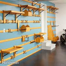 Build Wood Garage Shelf by Easy Garage Storage Solutions Family Handyman