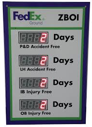 Days Since Last Accident Sign With Four Displays (36Hx24W) | Safety ... Ferndina Beach Man Killed In Crash Of Ctortrailer Suv On I95 Were Fedex Packages Damaged I5 And Fire Kirotv Denny Hamlin Ships His Car To Each Nascar Race Using Truck Crash Along I40 Bus Investigator Tracker On Fedex Likely Destroyed Twitter Truckhighwaysafety Gps Tracking Telematics For Fleet Management Letter Template Page 4 Invest Wight Standing Desk Shipping Policy Varidesk Sittostand Desks Amazoncom Package Express Appstore Android Driver Handles Jackknifed Big Rig Like A Boss Kforcom