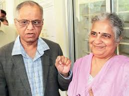 100 Sridhar Murthy IT Giant Narayana And His Wife Sudha To Collaborate